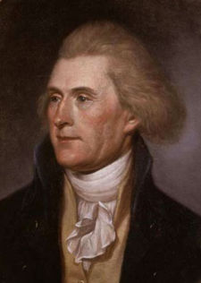 Thomas Jefferson by Charles Willson Peale 1791-92